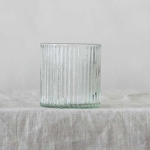 Glass Glass Line Tray Cup Short