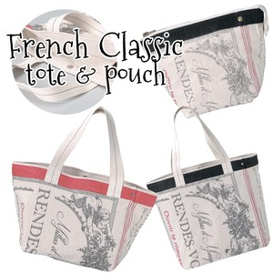 Pouch Tote Angel France Bag