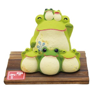 Frog with 6 happiness Ornament