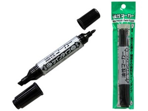 permanent marker Pens Twin Type