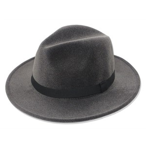 Ladies Men's Velour Felt Felt Hat Mannish
