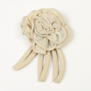 Craft Material Accessory Parts Beige Flower