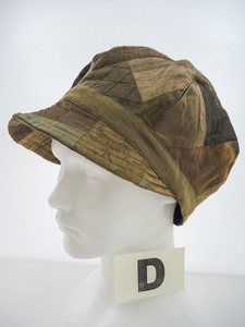 Significantly Silk Patchwork Craft Cup Hat