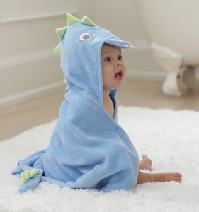 Baby Bathrobe Dragon 24 Months