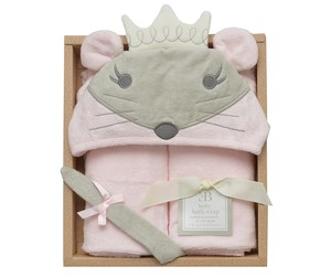 Baby Bathrobe Gift Set Princes Mouse 24 Months
