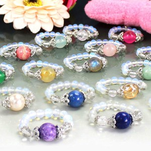 Natural stone Power Stone Ring Ring 4 Types