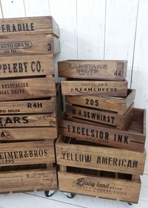 Old Pine Box Dust Box Tray 3 Types