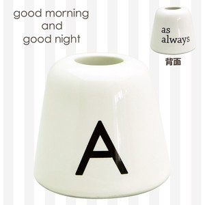 Alphabet Toothbrush Pen Holder