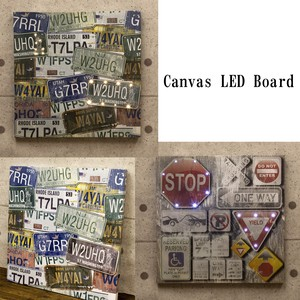 Canvas LED Board American