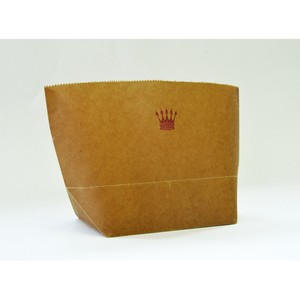 WAX PAPER MARCHE BAG crown [Paper Bag]
