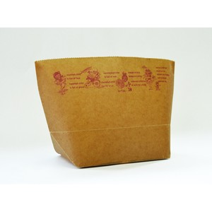 WAX PAPER MARCHE BAG girl [Paper Bag]