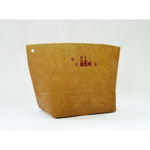 WAX PAPER MARCHE BAG rabbit [Paper Bag]