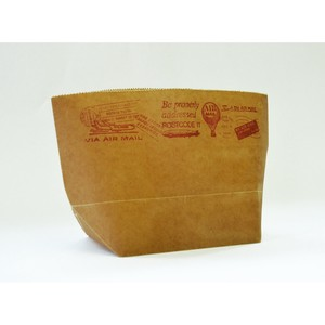 WAX PAPER MARCHE BAG air mail [Paper Bag]