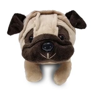 Tail Zipper Pouch Pug /Great as a pencil case!