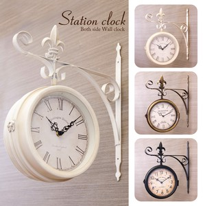 Clock Both Sides Wall Clock