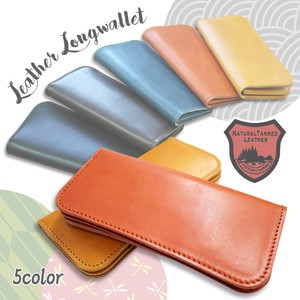 Tochigi Leather Series Long Wallet Cow Leather