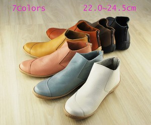 Genuine Leather Fit Flat Shoes