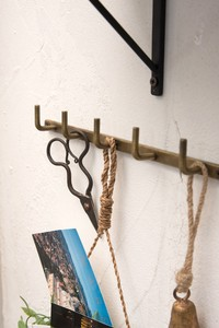 Iron Wall Hook Antique Gold