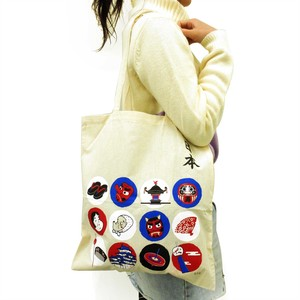 Japanese Style Tote Bag Seasonal Tradition
