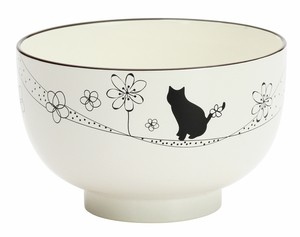 Flower Cat Soup Bowl