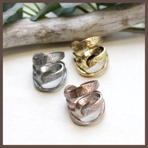 Italy Design Metal Ring 3 Colors
