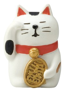 concombre Mute Beckoning cat Ornament