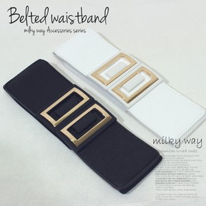 Design Gold Plate Elastic Belt Fancy Goods