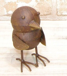 Tinplate Metal Bird Ornament