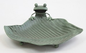 Tinplate Frog Metal Frog Tray Ornament