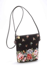 LakeAlster Square Pouch Rose Garden Bag