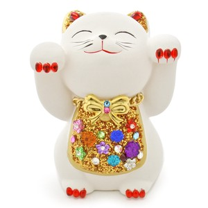 Grilled Beckoning cat Souvenir Japanese Craft Original Beckoning Cat Ornament