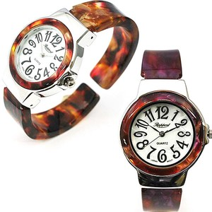 Plastic Bangle Watch Ladies Wrist Watch Fashion Watch