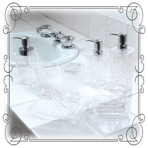 Clear rose Pattern Clear Rose White