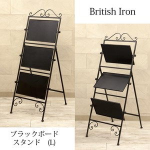 Tissue Iron Black Board Stand Iron