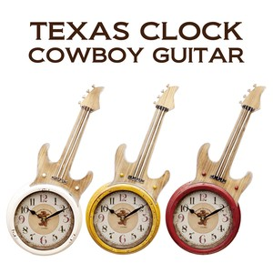 Wall Clock Clock Boy Guitar