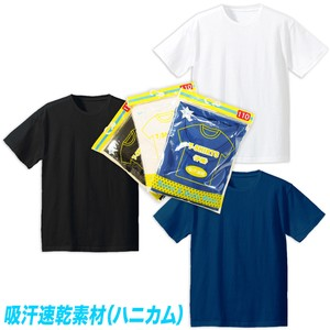 Package Plain Short Sleeve T-shirt Honeycomb Fast-Drying
