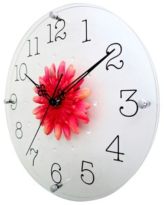 Art Flower Clock Wall Clock