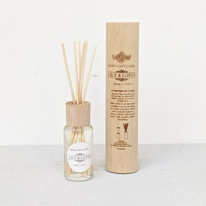 FRAGRANCE DIFFUSER IN WOODEN CASE