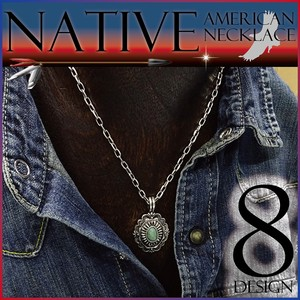 Native American Necklace Men's Unisex Coast