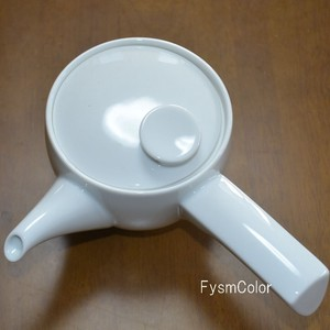 Japanese Tea Pot White Porcelains HASAMI Ware