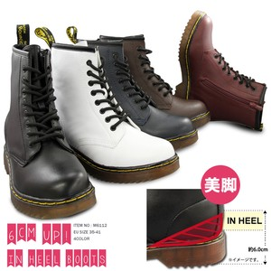 Ladies Heel Lace Boots