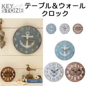 Stone Old Look Table Clock Wall Clock