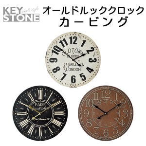 Stone Old Look Clock