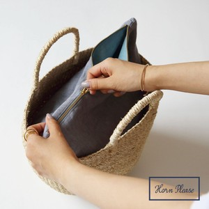 Pouch Flat Pouch Linen Solid