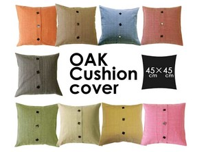 Modern Cushion Cover Button Open By 9 Colors Life