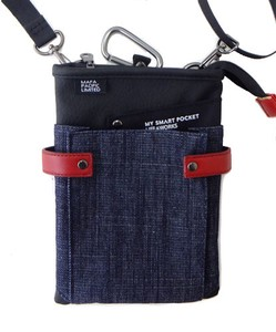 Bag Shoulder Bag Denim Fabric