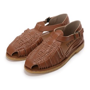 4 Colors Genuine Leather S/S Outlet Cow Leather Casual Leather Flat Sandal