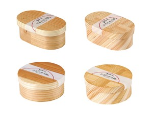 Bento Box Koban Round shape Natural Kitchen