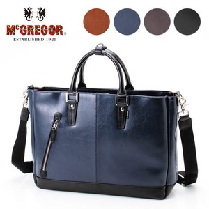 Business Tote Bag A4 size Storage Easy Synthetic Leather Material Business
