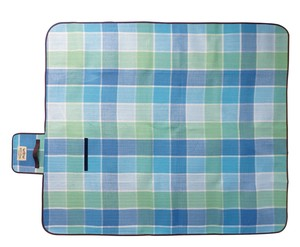 Picnicle Picnic Blanket Mint Blue Checkered Outdoor Good Parsons Can Use Parsons Can Use